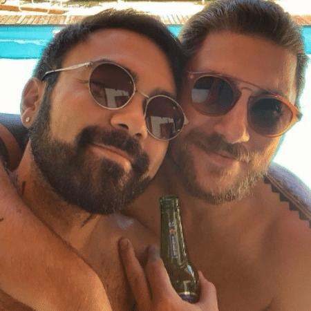 Mauro Sousa revelou perda de seguidores ao postar nova foto com o marido, Rafael - Reprodução/Instagram