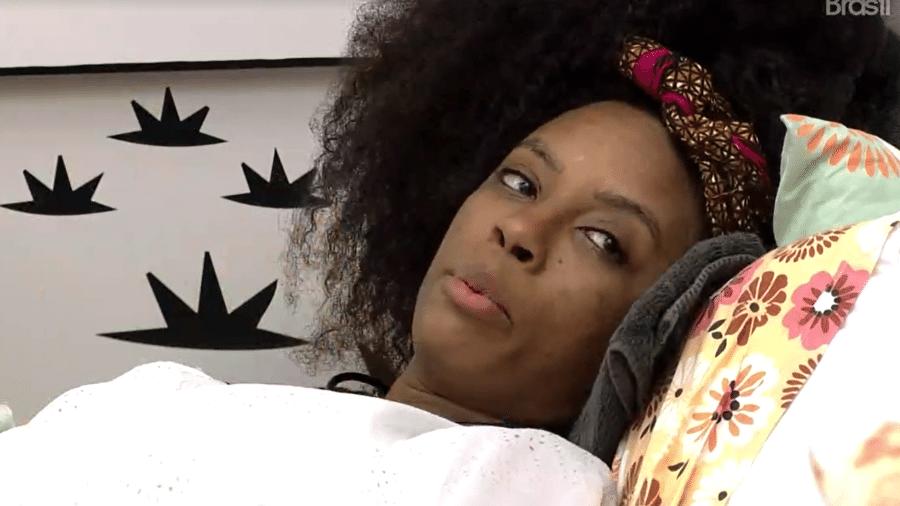 BBB 21: Lumena conversa no quarto cordel - Reprodução Globoplay