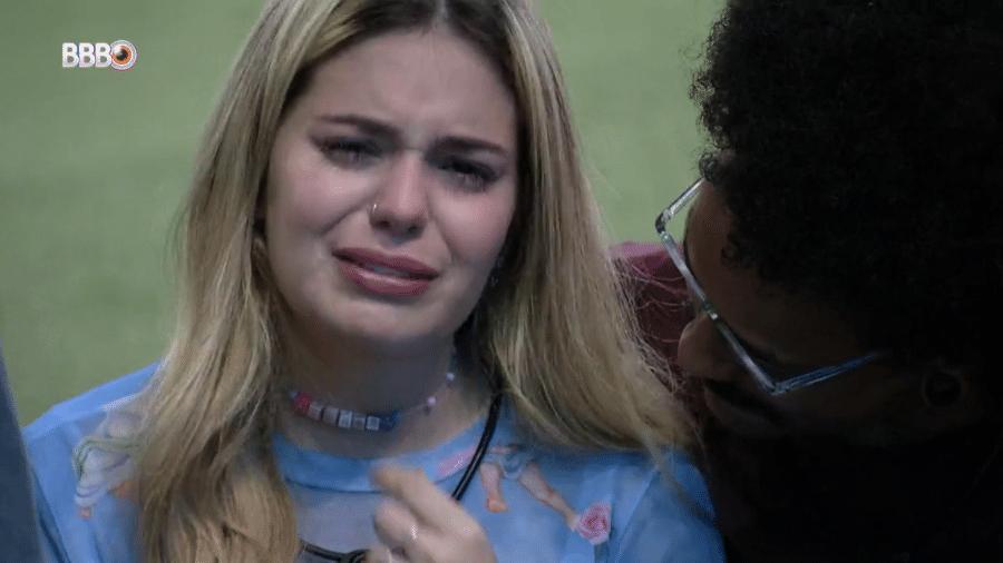 BBB 21: Viih Tube chora após a eliminação de Thaís - Reprodução/Globoplay