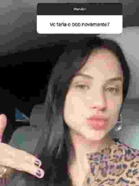Gabi Martins aceitaria novo convite para o BBB - Reprodução/Instagram - Reprodução/Instagram