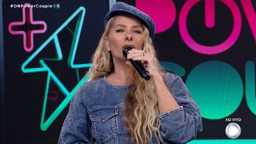 Power Couple: Adriane Galisteu pede liberdade de Britney ao vivo - Reprodução/RecordTV