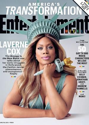 """Capa da edição especial da """"Entertainment Weekly"""" deste mês - Reprodução/Entertainment Weekly"""