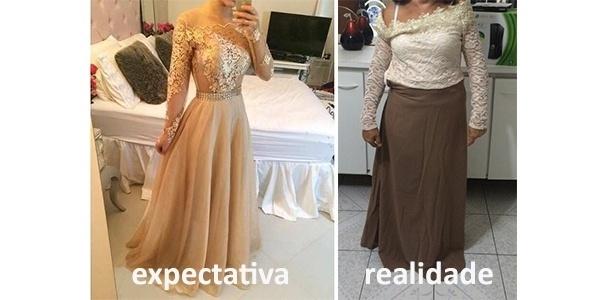43b53aec7 Mulheres relatam suas frustrações com vestidos de festa comprados ...