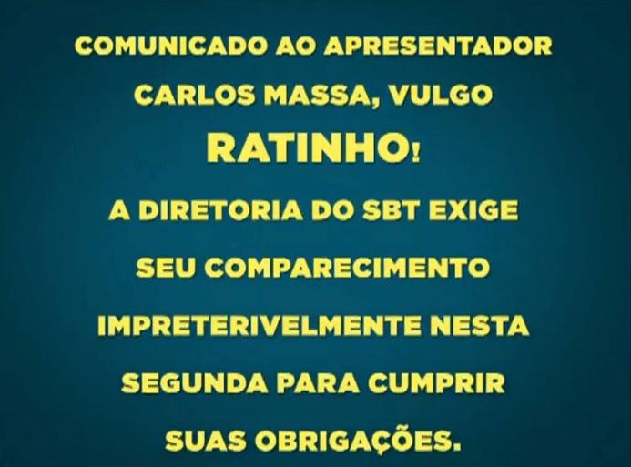 17.jul.2016 - Ratinho