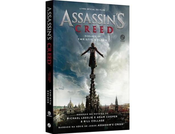 """Livro é baseado no roteiro do filme de """"Assassin's Creed"""" e se passa durante a Inquisição Espanhola no Século XV"""