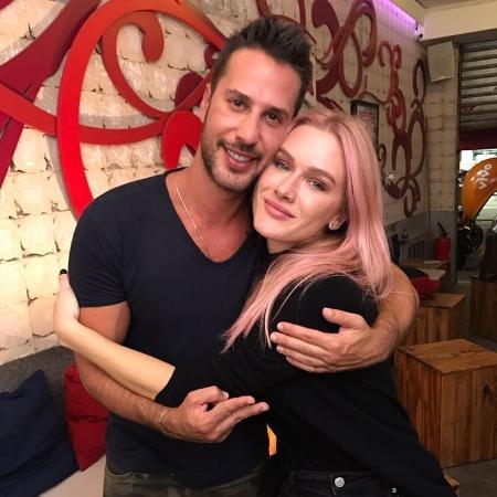 Fiorella Mattheis fez revelações amorosas para Caio Fischer  - Divulgação