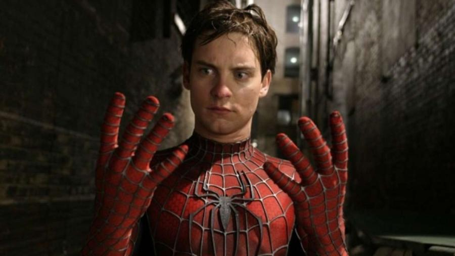 Tobey Maguire como Homem-Aranha - Reprodução