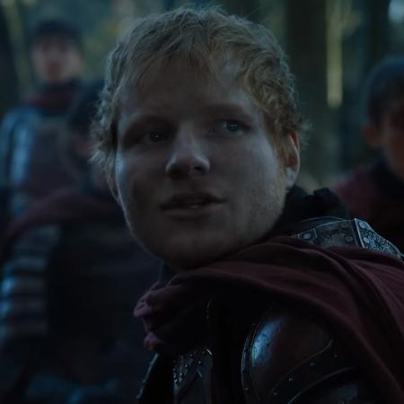 """Ed Sheeran em cena da sétima temporada de """"Game of Thrones"""" - Reprodução"""