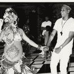 Beyoncé e Jay-Z em chá de bebê - Reprodução/Instagram