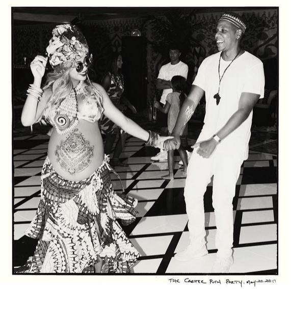 Beyoncé e Jay-Z em chá de bebê
