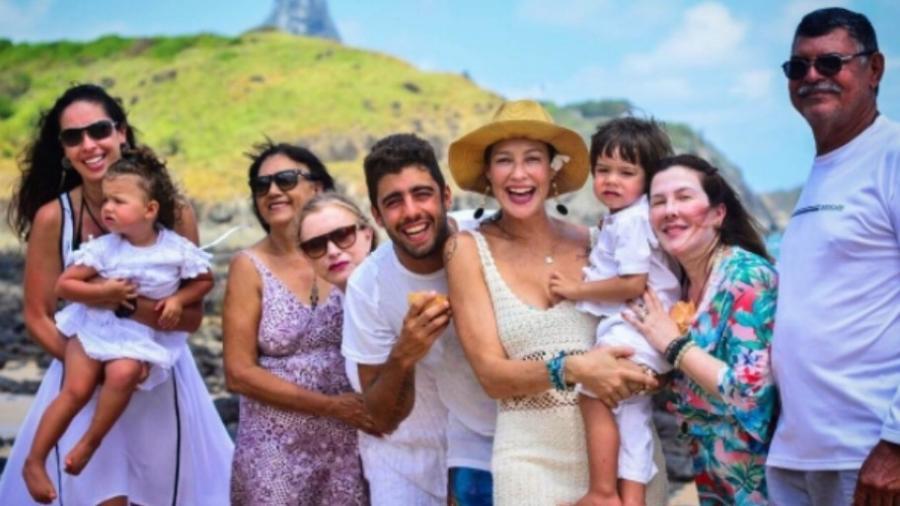 Luana Piovani, Pedro Scooby, os filhos, amigos e familiares - Reprodução/Instagram/luapio