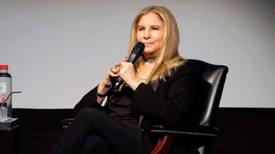 A cantora e atriz Barbra Streisand - Getty Images