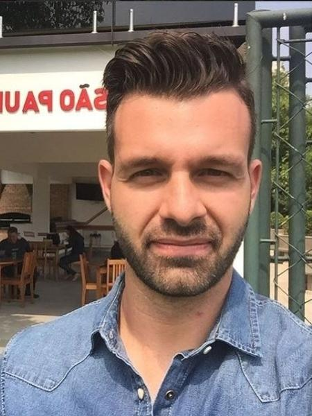 O repórter Gustavo Berton - Reprodução / Instagram