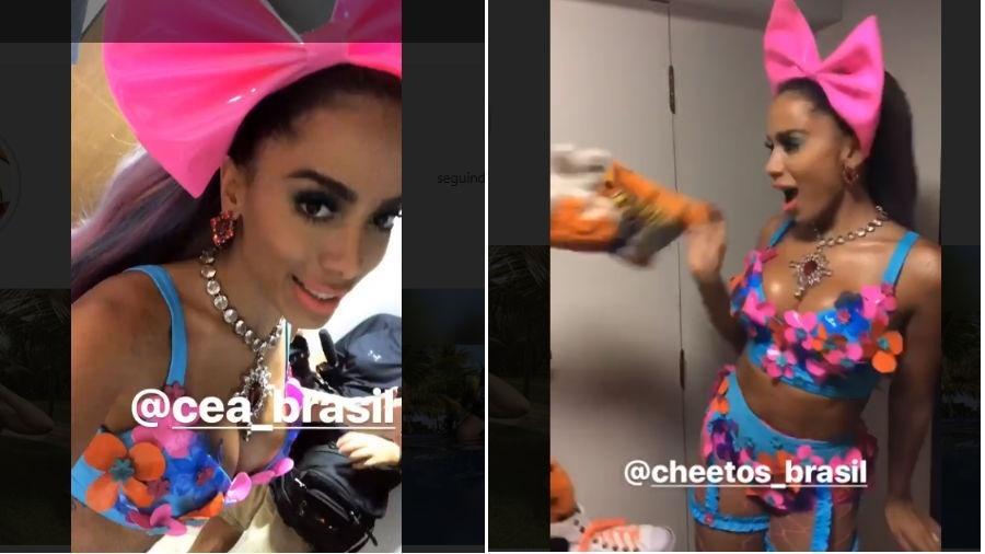 Anitta mostra look - Reprodução/Instagram