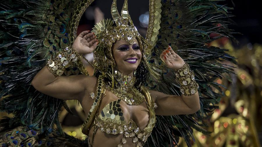 Desfile das Campeãs - Salgueiro - Viviane Araújo - Bruna Prado/UOL
