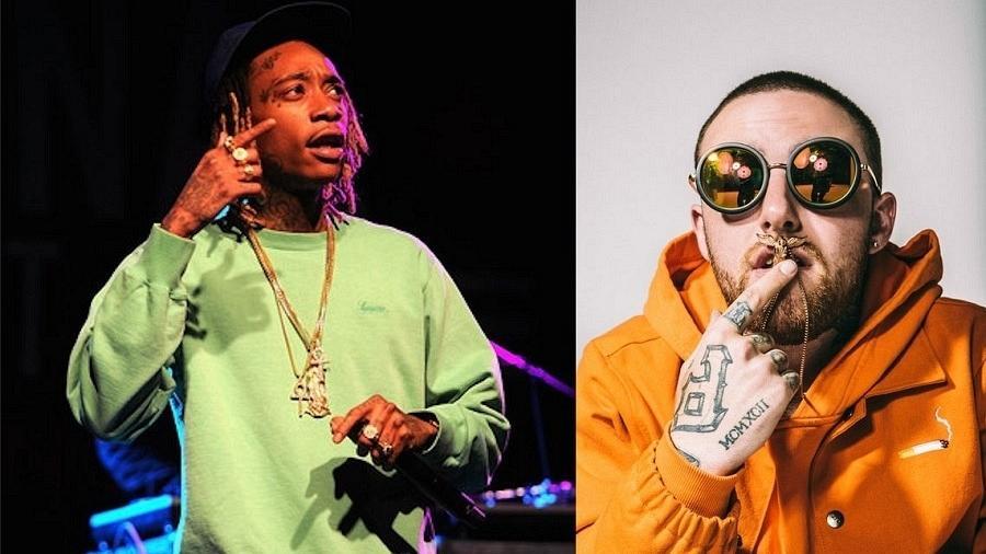 Wiz Khalifa e Mac Miller, atrações do Lollapalooza em São Paulo - Getty/Divulgação