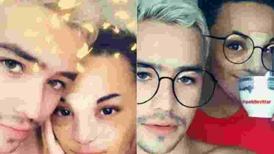 Pabllo Vittar diz que o namorado Leonardo Portilho é lindo e surpreende os fãs ao assumir relação  - Reprodução/Montagem UOL