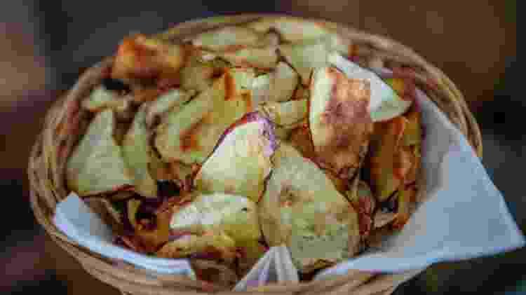Chips de batata-doce - Ronny Santos/Folhapress - Ronny Santos/Folhapress