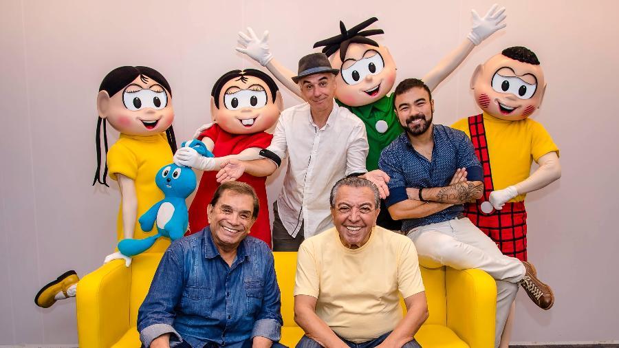 Mauricio de Sousa se junta a Dedé Santana e cria o Circo da Turma da Mônica - Divulgação