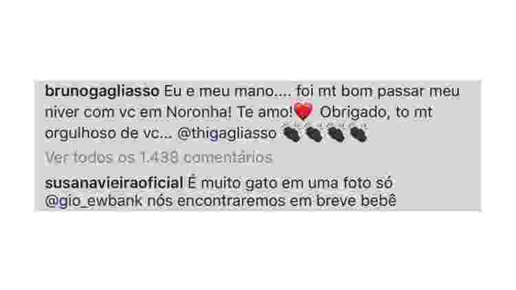 Susana Vieira elogia Bruno e Thiago Gagliasso - Reprodução/Instagram - Reprodução/Instagram