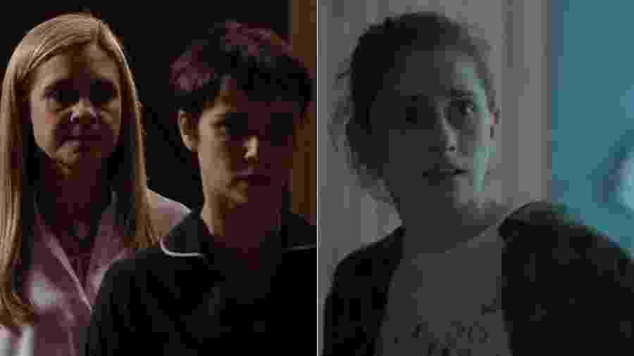 """Ivana (Carol Duarte) conhece Tereza (Tarso Brant) em """"A Força do Querer"""" - Montagem/UOL/Reprodução/TV Globo"""