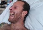 Internado, ator aparece pela primeira vez após cair do 5º andar de hotel