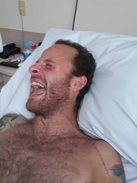 Vitor Morosini aparece pela primeira vez após acidente - Reprodução/Facebook