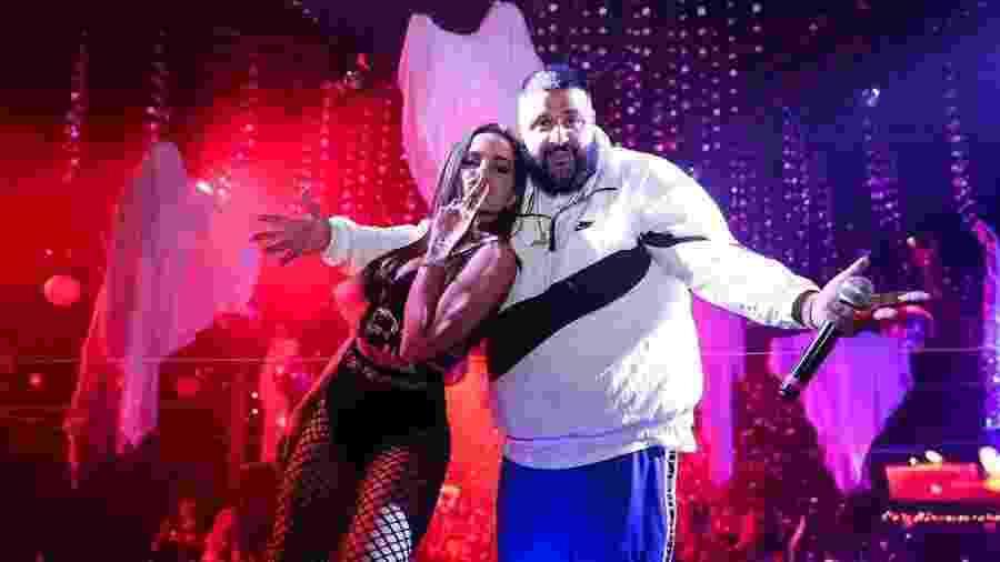 Anitta e DJ Khaled  - Reprodução/Instagram/@anittado