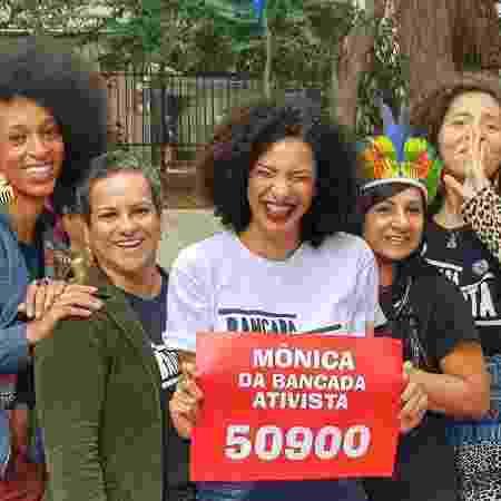 Monica Bancada Ativista - Reprodução/Facebook - Reprodução/Facebook