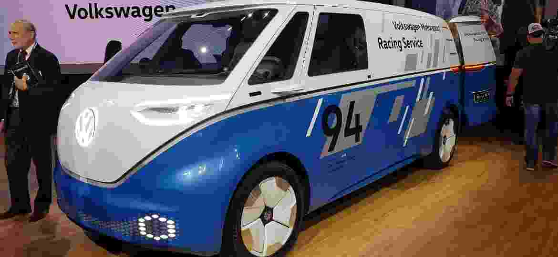 Volkswagen ID Buzz, a Kombi elétrica prevista para 2022 - Fernando Miragaya/UOL