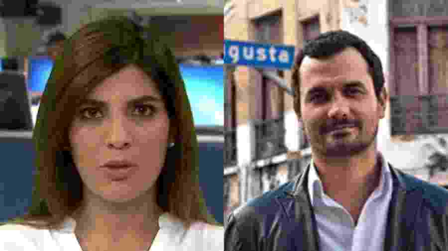 Andreia Sadi e Alê Youssef assumem relacionamento nas redes sociais - Montagem /UOL