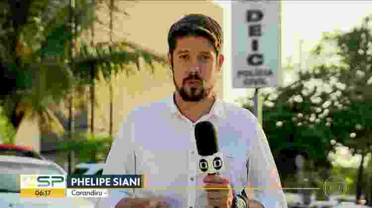 Phelipe Siani é repórter da Globo em São Paulo - Reprodução/Instagram - Reprodução/Instagram