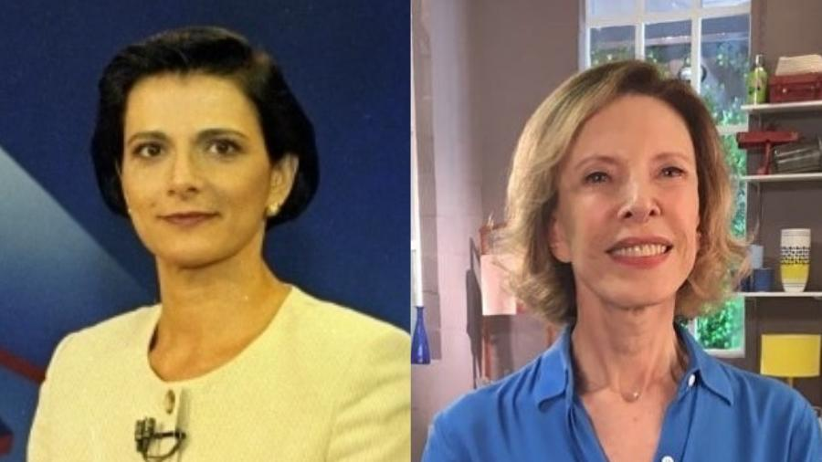 Lillian Witte Fibe e Marília Gabriela estão fora da TV aberta - Colagem/UOL