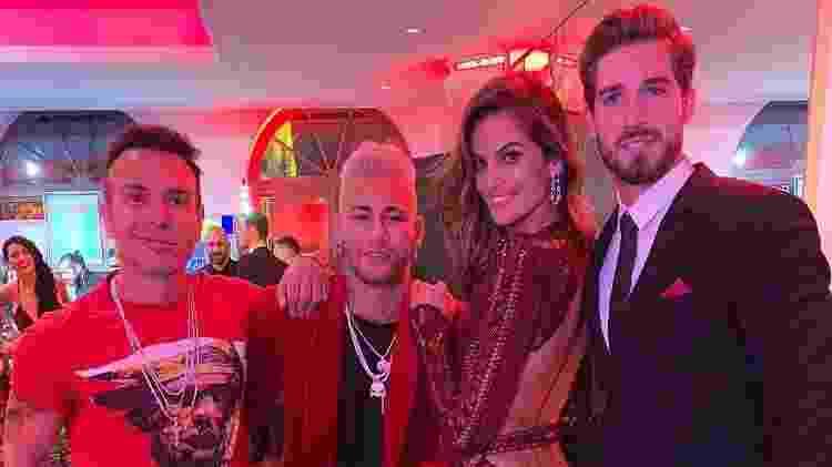 Neymar - Reprodução/Instagram/@matmazzafera - Reprodução/Instagram/@matmazzafera