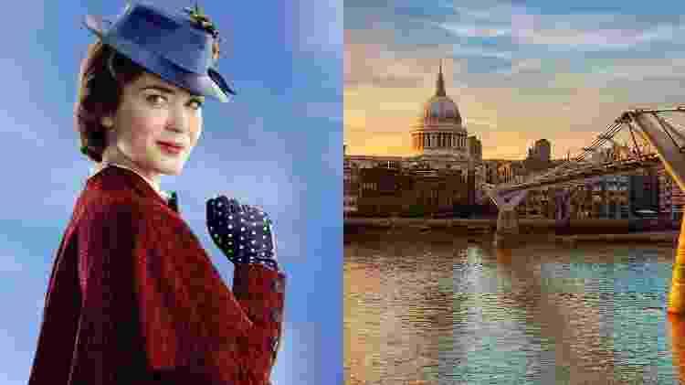 Montagem de Mary Poppins - Divulgação - iStock - Divulgação - iStock
