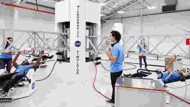 Os espaços de simulações de viagens a Marte são abertos a pessoas com mais de 10 anos - Divulgação/Kennedy Space Center - Divulgação/Kennedy Space Center