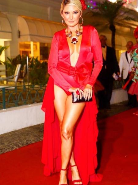 Antonia Fontenelle no Baile do Copa. - Reprodução/Instagram