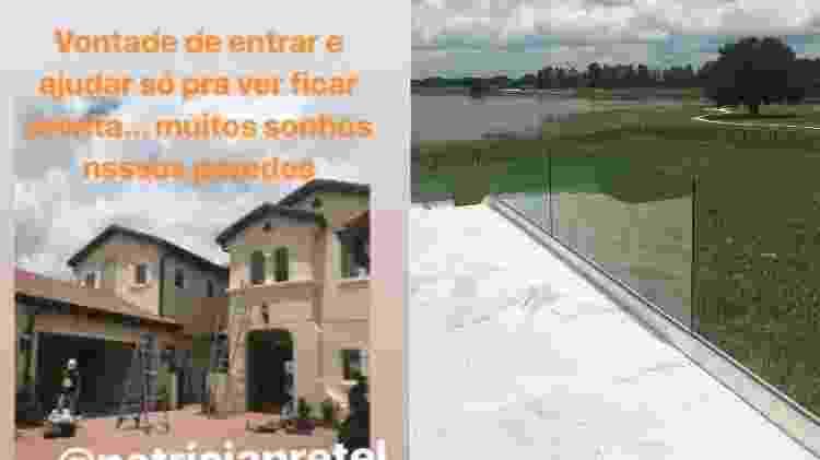 Luciano mostra construção da casa em Orlando - Reprodução/Instagram