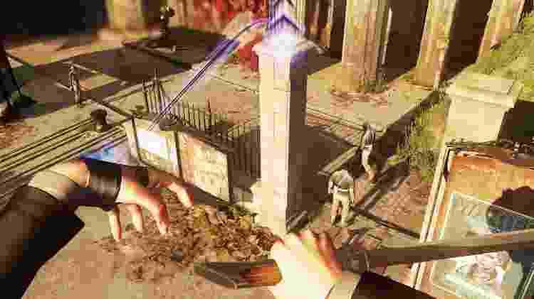 """A Arkane, famosa pelo level design de """"Dishonored"""" (foto), foi fundamental na parceria com a MachineGames em """"Youngblood"""" - Divulgação"""