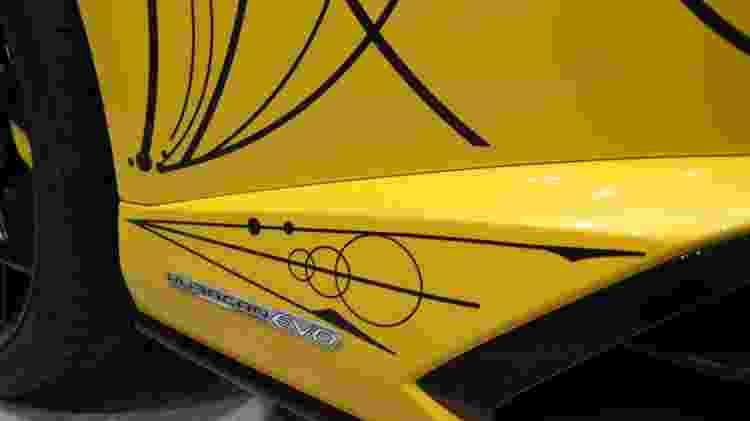 Carro está em exposição no showroom da Lamborghini, em São Paulo (SP) - Divulgação