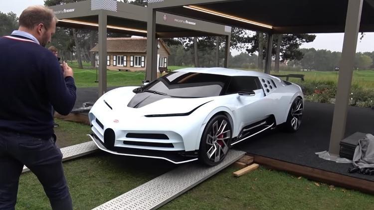 Bugatti Centodieci em evento na Bélgica - Reprodução - Reprodução