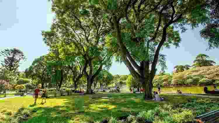 O Parque Centenário é um dos preferidos dos portenhos - Ente de Turismo de la Ciudad de Buenos Aires/Divulgação