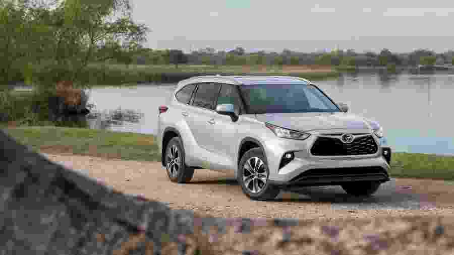 Toyota Highlander 2020 - Divulgação