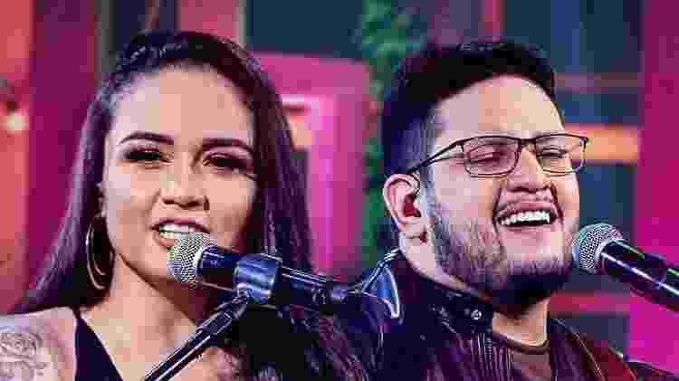 A dupla Luiza e Maurílio faz sucesso com a música 'S de Saudade' - Reprodução/Instagram - Reprodução/Instagram