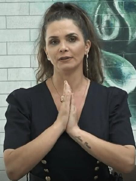 """Luiza Ambiel em """"A Fazenda 12"""" - Reprodução/Playplus"""