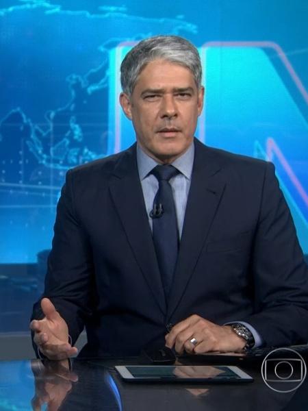 """William Bonner, apresentador do """"Jornal Nacional"""" - Reprodução/GloboPlay"""
