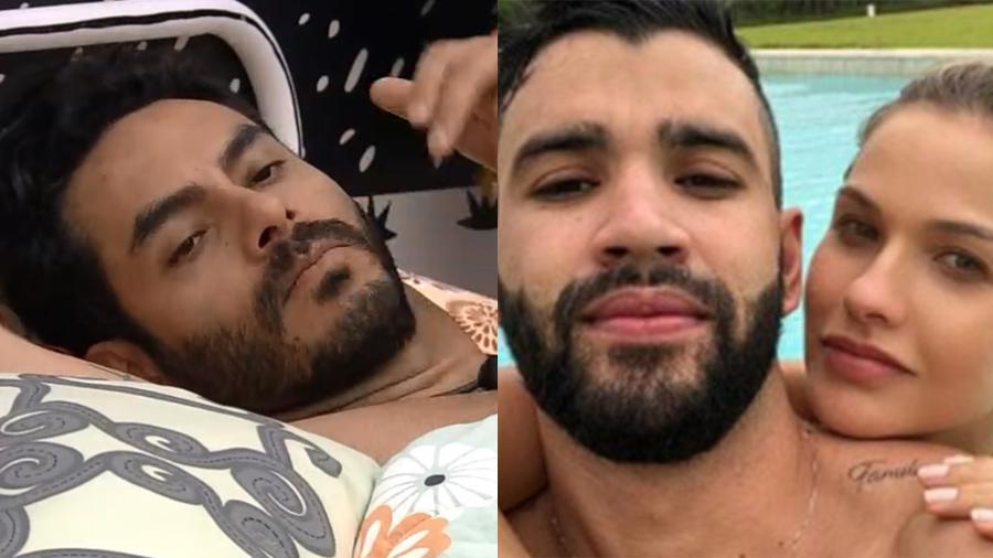 BBB 21: Rodolffo fala de Gusttavo Lima e Andressa Suita - Reprodução/Globoplay/Instagram