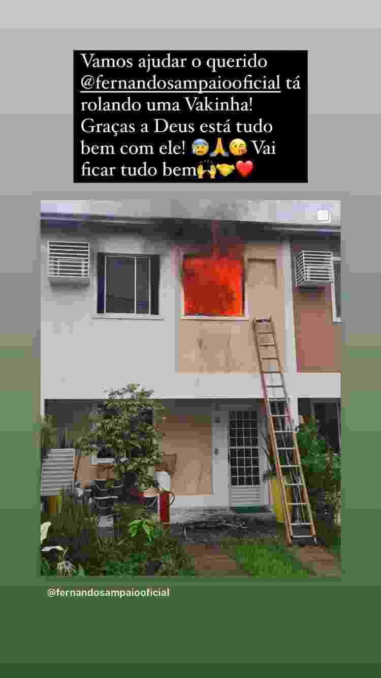 Irmã de Paulo Gustavo pede vaquinha para ator que teve casa incendiada - Reprodução/Instagram - Reprodução/Instagram