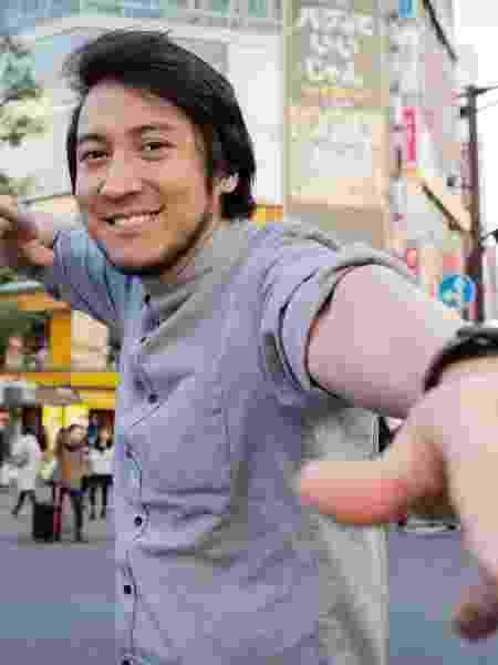 Leandro Hiroshi Doi em Shibuya, Tóquio - Divulgação - Divulgação