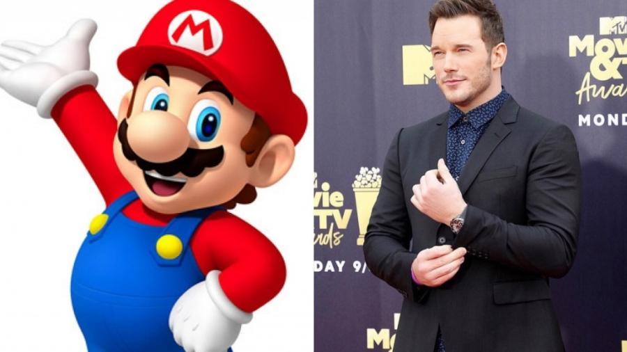 Chris Pratt será Mario no novo filme que vai estrear em 2022 - Reprodução/Instagram e site Mario Bros.